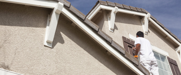 TIPS FOR COATING EXTERIOR STUCCO