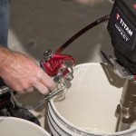 Troubleshooting spray equipment