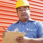 Hispanic construction worker