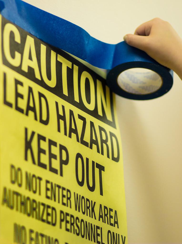 Lead Paint Hazard Warning